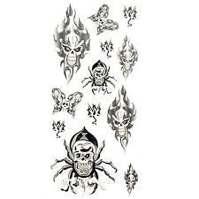 119 1ks Nový Elegantní Vodotěsný Dočasné Tetování Zápěstí Krk Rameno Noha Tetování Zvíře Lebka Těla Tetování 185 Cm 85 Cm