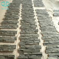 outdoor wall tiles black slate cultural stone panel tiles for wall veneer stone wall stone exterior