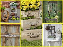 Image Designs Diy Vintage And Rustic Garden Decor Ideas Diy Summer Decorating Diy Yard Decor Dgq Homes Diy Garden Decor 35 Cheap And Easy Ideas Youtube Diy Yard Decor