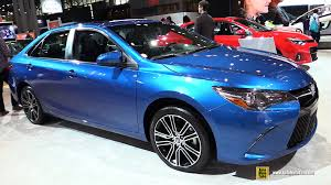 toyota camry 2016 special edition. 2016 toyota camry se special edition exterior and interior walkaround 2015 new york auto show youtube 0