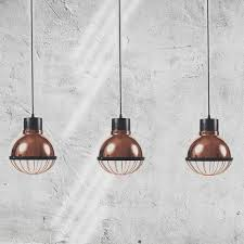 details about copper dome pendant light small kitchen ceiling fitting cage lamp shade