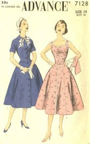 1950s Dress Patterns Enchanting 48's Patterns And Images