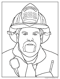 Small Picture Top Fire Safety Firefighter Coloring Pages Womanmatecom