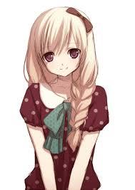 """Résultat de recherche d'images pour """"manga girl blonde"""""""