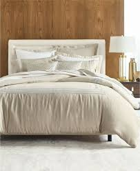 new hotel collection madison oatmeal lace king duvet comforter cover 100 linen