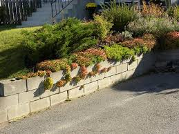 cinder block garden wall. Cinder Block Garden Wall H