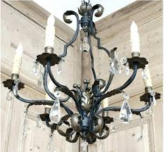 iron crystal chandelier wrought iron crystal chandelier image of antique wrought iron crystal chandelier white iron iron crystal chandelier