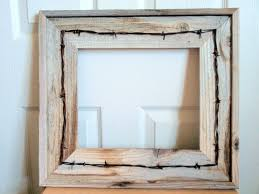 barn wood picture frames. Rustic Handmade Reclaimed Barnwood Frames With Antique Wire Design Barn Wood Picture M