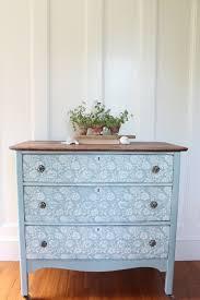 Fleur Chalk Paint Dresser Before & After Finding Silver Pennies