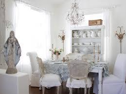 white shabby chic dining room amazing white shabby chic