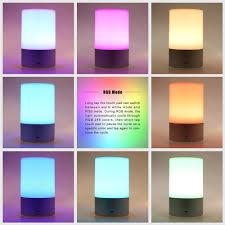 Konesky Rgb Led Nachtkastje Nachtlampje Sfeer Lamp Touch Sensor