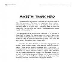 macbeth tyrant or tragic hero essay for antigone application  how to write better essays