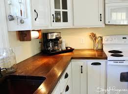 ergonomic diy wood kitchen countertops under cabinet lighting wide plank butcher block diy wood kitchen island