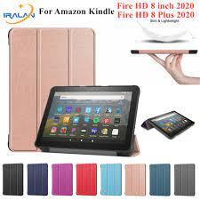2020 Mới Dành Cho Máy Đọc Sách Amazon Kindle Fire HD 8 Plus 2020 Máy Tính  Bảng Dành Cho Toàn Mới Fire HD 8 2020 Inch + Tặng Kính Cường Lực Bảo