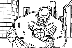 Small Picture Agent Venom Coloring Pages Related Keywords Suggestions Agent