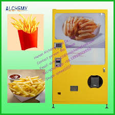 French Fry Vending Machine Canada Stunning Automatic Coin Operated French Fries Vending Machinesnack Food