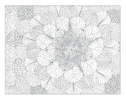 Coloring Pages Complex Designs Printable Complex Coloring Pages Free
