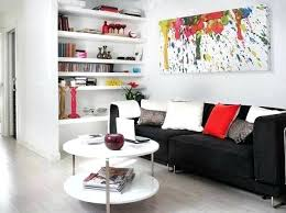black couch living room white small living room ideas with black sofa and abstract black leather couch living room