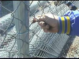 chain link fence ties. Contemporary Link How Easy Twist Fence Ties Differ From Tight In Chain Link H