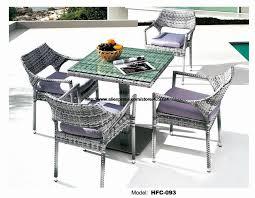 leisure design american european holiday outdoor glass table chair set rattan sea beach swing pool gardern furniture