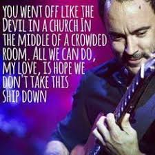 Image result for dave matthews images space between