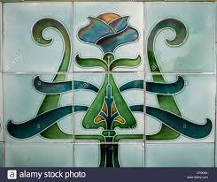 ornate green art deco ceramic wall tiles uk on art wall tiles ceramic with ornate green art deco ceramic wall tiles uk stock photo 48228682