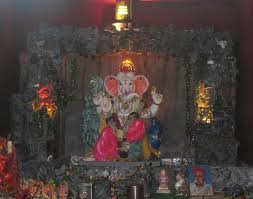 ganpati decoration ideas at home ganesh statue pinterest