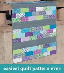 Easiest quilt pattern ever Here's one for you Jo for your strips ... & Easiest quilt pattern ever Here's one for you Jo for your strips Adamdwight.com