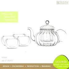 glass tea pots custom glass tea cups and tea pots primula classic 40oz glass teapot with