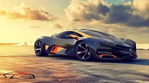 lada raven sports car concept wallpaper side view