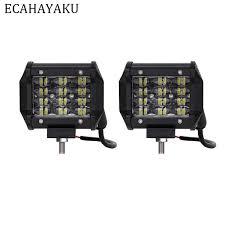 <b>ECAHAYAKU 2pcs</b> 4 inch <b>36w</b> Led work Light Bar Spotlight for Off ...