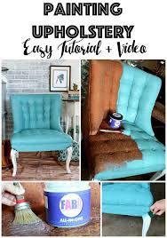 painting fabric upholstery using new fab that primes and seals and leaves fabric feeling soft