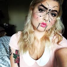 makeup broken doll by nicolec93 your pics with and