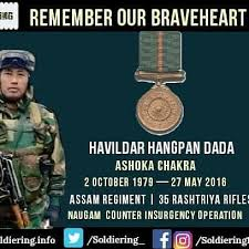 Image result for indian army salute Hangpan Dada