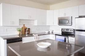 quartz kitchen countertops white cabinets. White Kitchen Cabinets With Grey Quartz Countertops W
