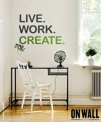 creating office work play. Live Work Create Quote Wall Decal Vinyl Sticker Inside Decals Plan Creating Office Play J