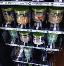 Fruit Vending Machine For Sale Inspiration Would You Eat A Salad From A Vending Machine One Mile At A Time