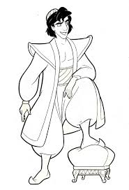 Here we have simple lovable characters with big glassy eyes that melt your heart. Walt Disney Coloring Pages Prince Aladdin Walt Disney Characters 35777791 1381 2032 Cute Kawaii Resources