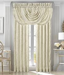 drapes with valance. J. Queen New York Marquis Damask Window Treatments Drapes With Valance O