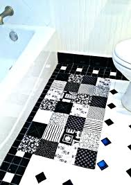 black and white bathroom rug runner damask rugs large size of coffee black and white striped bath rugs