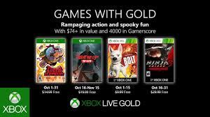 Xbox - October <b>2019</b> Games with <b>Gold</b> - YouTube