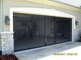 exciting garage door screen enclosure decorations trademark 2 car