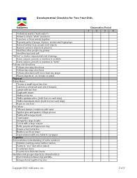 Infant Development Chart Checklist 32 Disclosed Preschooler Milestones Chart