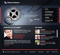 Music Website Templates Awesome Film Music Website Templates Psd Website Templates
