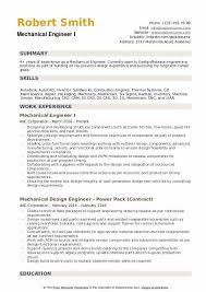 Mechanical Engineer Resume Samples Qwikresume
