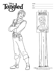 Small Picture disney tangled coloring pages printable Tangled Color Sheets