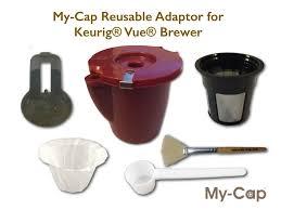 keurig vue vs k cup. Delighful Keurig Reusable Adaptor For Use With Keurig Vue Brewers In Vs K Cup