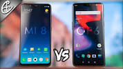 Image result for mi 8 vs oneplus 6