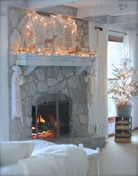 outstanding painted stone fireplace photos erins art and gardens painted rock fireplace makeover