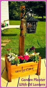 garden treasures planter garden treasures planter garden treasures planter box garden planter rustic bed post standing garden treasures planter